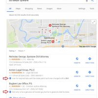 Google Testing Showing Reviews in Local Search and Maps Results