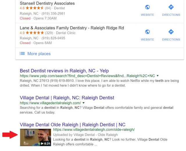 Rich Snippet Video Thumbnails Displaying in Organic Search