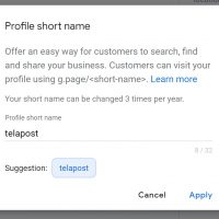 How To Get a Google My Business Custom URL