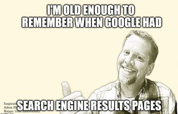 """Google to Eliminate Search Engine Results Pages, Replaces with """"More Results"""""""