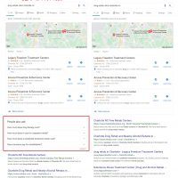 Google Testing People Also Ask (PAA) Boxes in Local Search Results