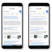 January 13 2020 Google Favicon and Desktop Search Result Layout Change